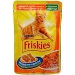 Консерва для котів Friskies Vitality Курка,Качка Алюпоуч 100г