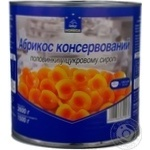 Fruit apricot Horeca select in syrup 2600ml can Greece