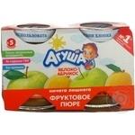 Puree Agusha peach for children 115g
