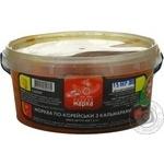 Салат морковь Чудовая марка кальмар шинкованная 400г Украина