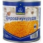 Vegetables corn Horeca select canned 2125g