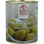 Fine Food With Bone Green Olive