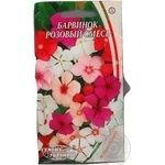 Насіння Квіти Барвінок рожевий суміш Семена Украины 1г