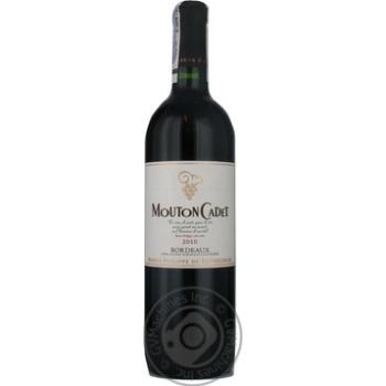 Philipe de Rothchild Mouton Cadet Rouge Red Dry Wine 13,5% 0,75l