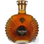 Коньяк Тигран Армянский 5* 40% 0,5л - купить, цены на Novus - фото 1