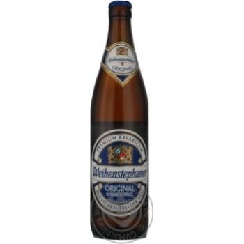 Пиво Вайхенстефанер Ориджинал светлое 5.1%об. 500мл