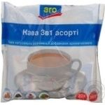 Natural instant aromatized coffee with additives Aro 3in1 stick sachets 20х18g Ukraine