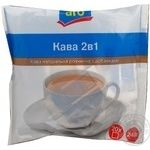 Natural instant coffee with additives Aro 2in1 stick sachets 20х12g Ukraine