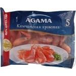 Креветки неочищені Камчатські 40+ Agama 0,8кг