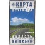 Kyiv Region North Map of Navigator's Roads