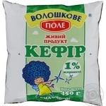 Kefir Voloshkove pole 1% sachet 450g Ukraine