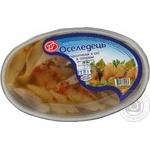 Філе-шматочки оселедця Черкасириба підкопчений в олії зі спеціями 180г Україна