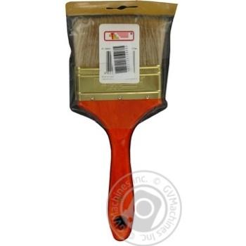 Пензлик флейцевий 90*17,5*50мм.InterTool - купить, цены на Novus - фото 2