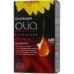 Крем-фарба для волосся Garnier стійка Olia відт.6.60