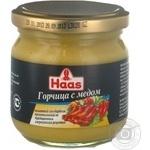 Горчица Haas с медом 215г