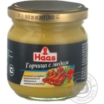 Haas with honey mustard 215ml