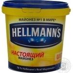 Mayonnaise Hellmanns Spravzhniy 78% 940g Russia