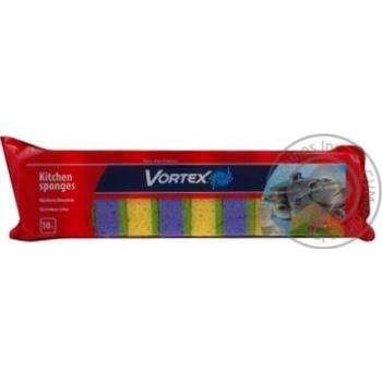 Губка кухонна Vortex 10шт