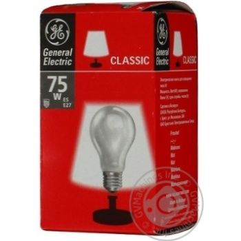 Bulb General electric e27 75w 230v - buy, prices for Novus - image 3
