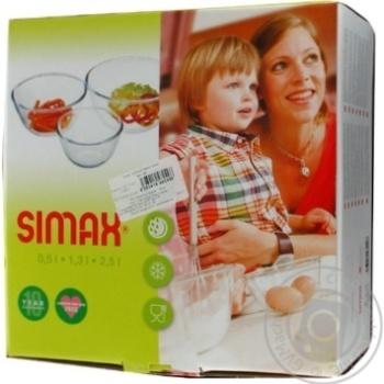 Simax Set of Salad Bowls 3pcs
