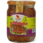 kidney bean Smachnogo canned 520g glass jar