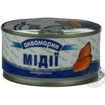 Seafood mussles Akvamaryn canned 185g can China