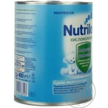 Смесь молочная Нутриция Нутрилон 2 Кисломолочный сухая для детей с 6 месяцев железная банка 400г - купить, цены на Ашан - фото 4