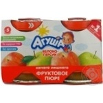 Puree Agusha peach for children from 5 months 115ml