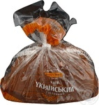Хліб Київхліб Український Столичний нарізка 475г Україна