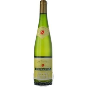 Вино A.Zirnhelt Піно Грі 13% 0,75л