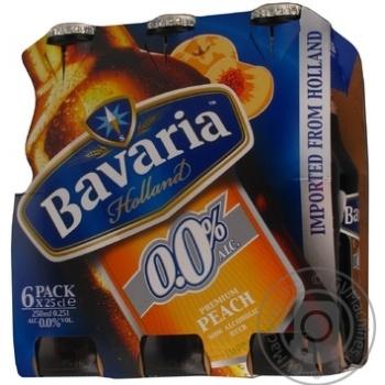 Пиво Бавария безалкогольное 250мл