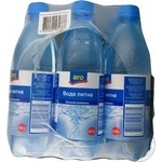 Вода Аро сильногазована пластикова пляшка 500мл