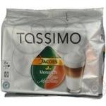 Кава Якобз Монарх Тассімо Латте Макіато в капсулах кава натуральна смажена мелена Якобз монарх еспресо 8х7.4г молочний продукт стерилізований з цукром 8х52г 8 порцій Швейцарія