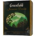 Green tea Greenfield Jasmine Dream 100х2g teabags Ukraine