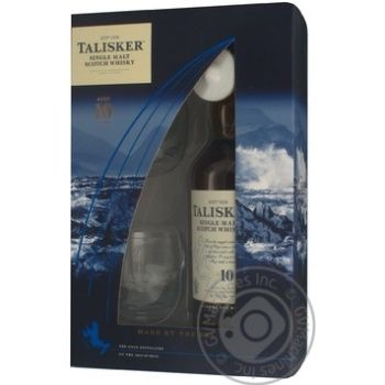 Виски Talisker 45.8% 0.7л