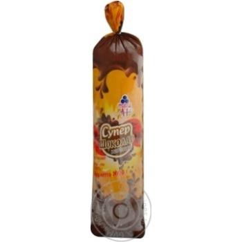 Ice-cream Rud Super chocolate 1000g sachet Ukraine
