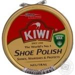Крем для взуття Kiwi нейтральний в банці 50мл - купити, ціни на МегаМаркет - фото 1