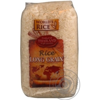 Рис довгозернистий Long Grain 1кг