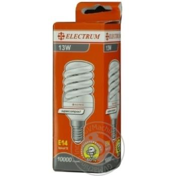 Лампа енергозберігаюча Electrum FC-116 13W E14 4000K A-FC-1128