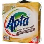 Пральний порошок Апта Савон де Марсель для всіх типів прання 3600г Монако