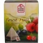 Смесь чаев Файн Фуд Форест фрут с ароматом лесных ягод 1.5г х 20шт