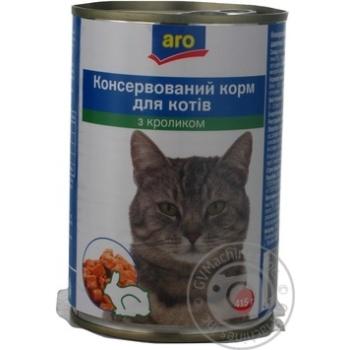 ARO КОНС. КОРМ Д/КОТ. КРОЛ. 415Г