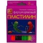 Пластилин Луч флуоресцентный 10шт 105г