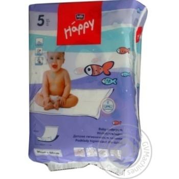 Пелюшки гігіенічні Happy Bella 5шт