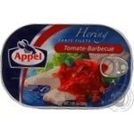 Fish herring Appel in tomato sauce 200g can Germany