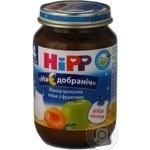 Каша детская Хипп Спокойной ночи Манная молочная с фруктами с 4 месяцев стеклянная банка 190г Венгрия