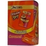 Instant coffee drink with caramel syrup Jacobs 3in1 10х17g stick Romania