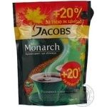 Natural instant sublimated coffee Jacobs Monarch 180g Germany