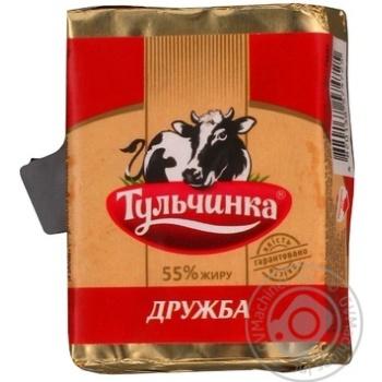 Сырный продукт плавленый «Дружба» ТМ «Тульчинка», 55% 90г