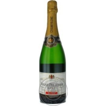 Шампанское Veuve Pelletier брют 0,75л